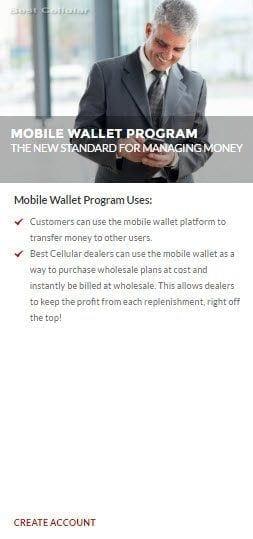 Best Cellular Mobile Wallet Program