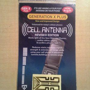 Gen X Plus - Cellphone Antenna
