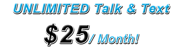 Connections by Boss Cellular w/ Unlimited Talk & Unlimited Text