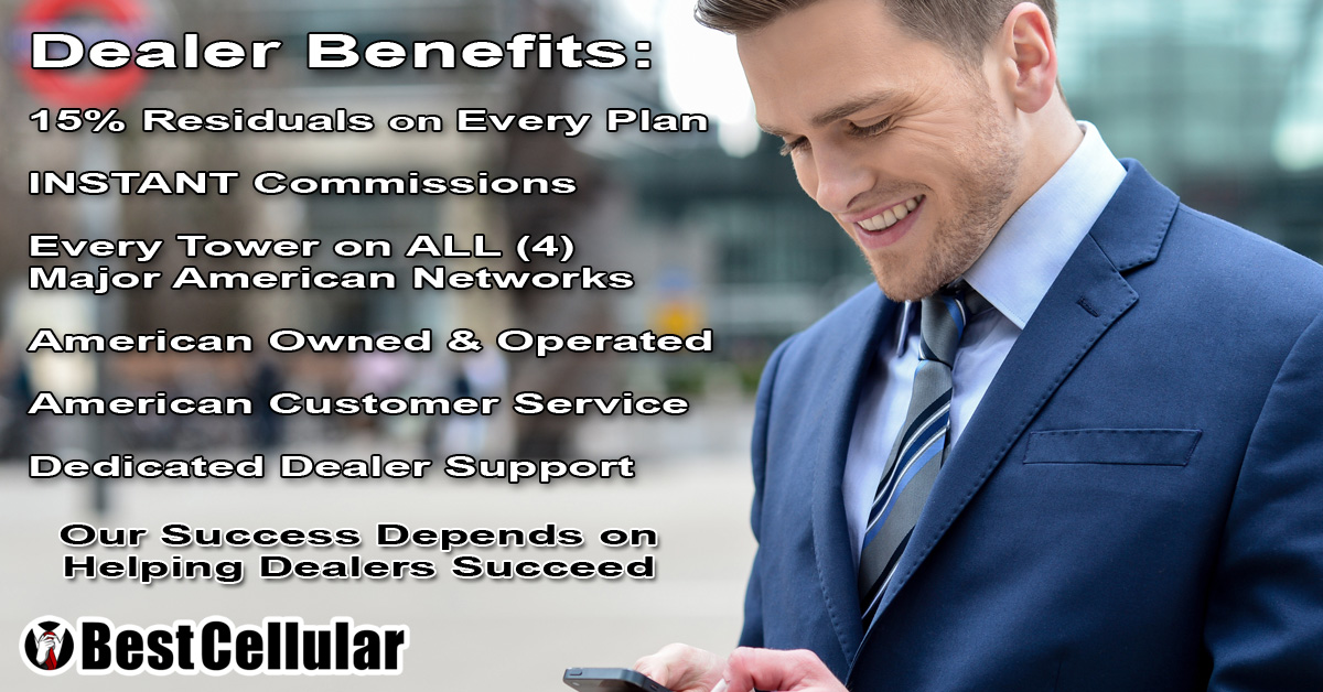 Become a Best Cellular Dealer - Open your own store!