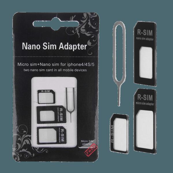 Universal SIM Card Adapter kit
