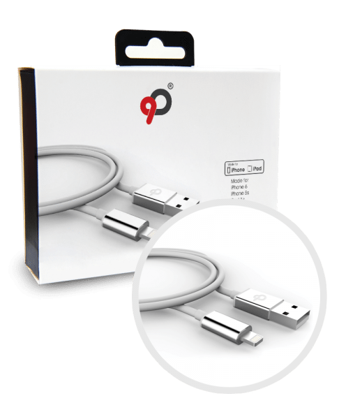 Nimbus9 Lifeline Lightning Cable White