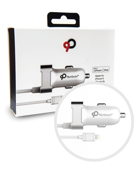 Nimbus9 Lightning Car Charger White
