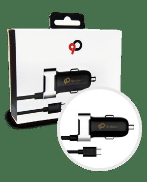 Nimbus9 USB-C Car Charger Black