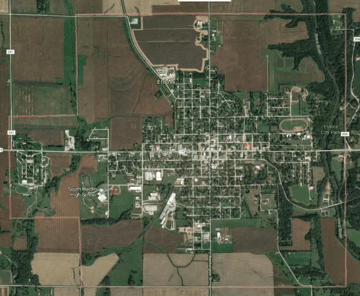 Who has the best coverage in Eldora, Iowa?