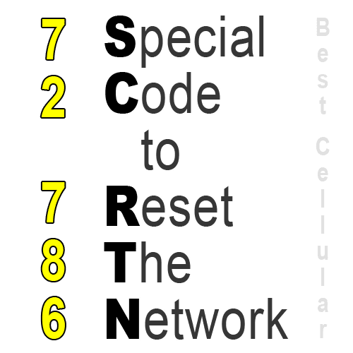 How to Network Reset a Sprint phone – Dial ##72786#