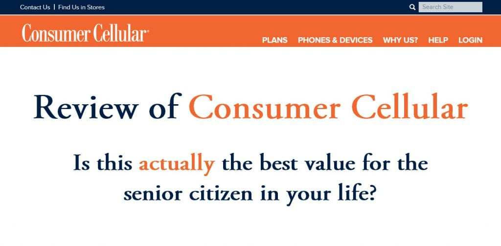 Consumer Cellular or Best Cellular™, What's The Best Cell Phone Plan For Seniors?