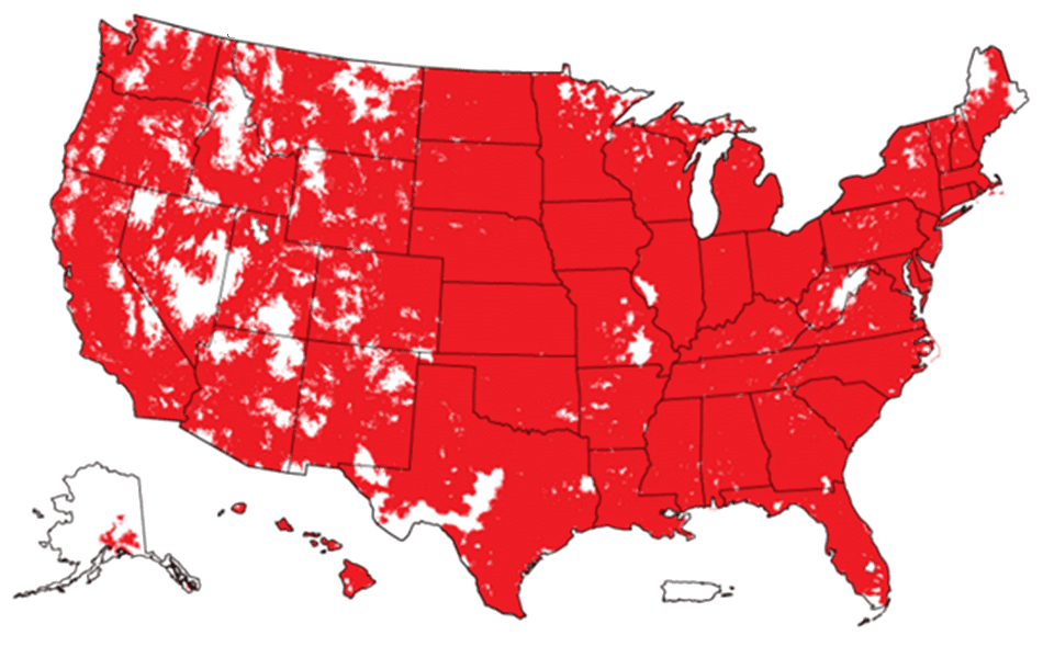 Verizon Coverage Maps