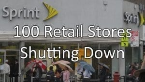 100 Sprint Stores Going Out Of Business